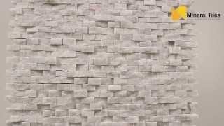 Mini Split Face Stone Tile Carrara - 120sapsssca