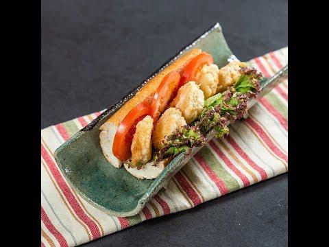 Sandwich cu creveți Po Boy