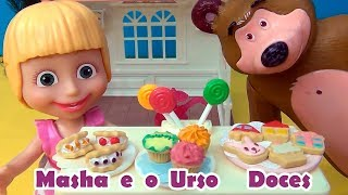 Masha e o Urso - Lojinha de Doces - Masha and the Bear #MASHA #MASHAEOURSO #TiaCris