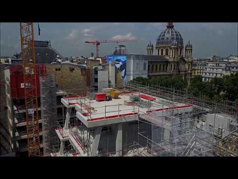 Drone vidéo- Suivi de chantier - EIFFAGE - Paris 8ème [DJI Mavic Pro]