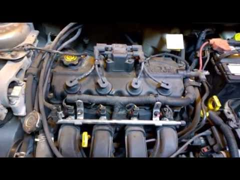 Repairing 2001 Dodge Neon Timing Belt and Head - YouTube