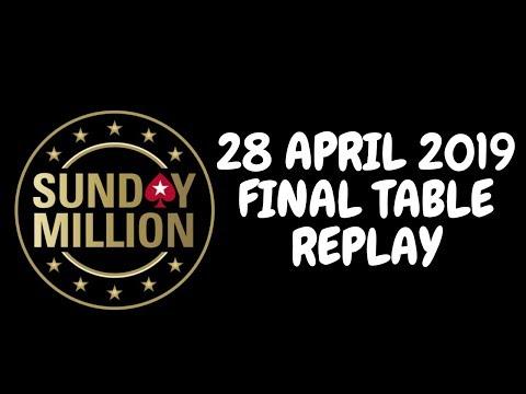 $109 Sunday Million 28 April 2019: Final Table Replay