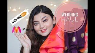 JABONG MYNTRA KURTI HAUL   WEDDING Season Kurti   Deblina Rababi