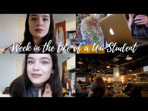 WEEK IN THE LIFE OF A UNI STUDENT | University of Kent