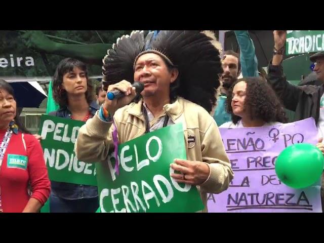 Ato em defesa do Meio Ambiente