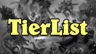 NEW Battlegrounds TierList! No Amalgam Patch