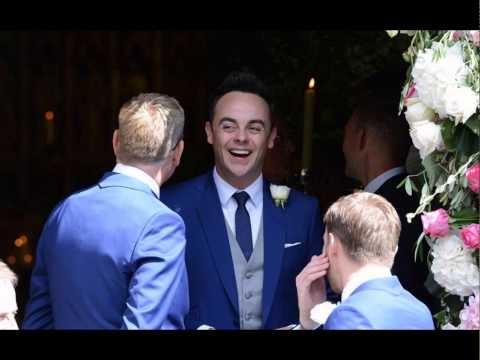 Hopefully happy: Declan Donnelly married Ali Astall