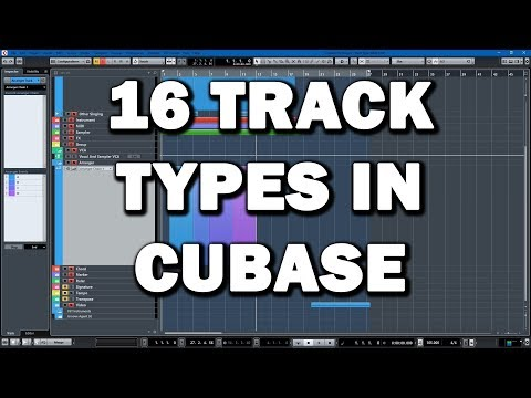 16 Track Types in Cubase Explained (Tutorial)