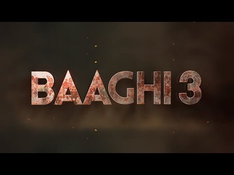 Baaghi 3 Title Animation in After Effects | After Effects Tutorial | Visual Effects Tutorial