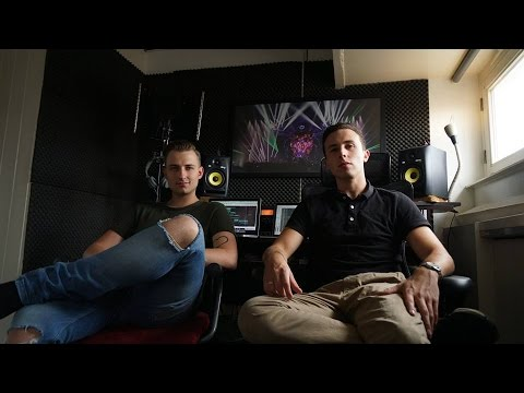Pitchback & Joey Dale Making a Track in The Studio ( Revealed Recordings)