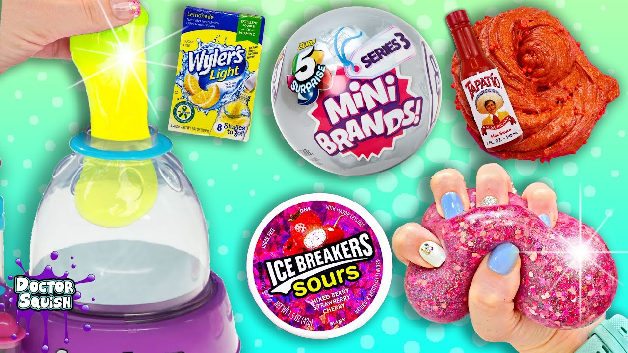 Mini Brands Pick My Squishy Ingredients! Series 3 Stress Balls