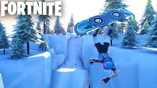 DRIFTBOARD Race Track in Fortnite Creative (Codes in Comments) SLIPPERY SLOPES
