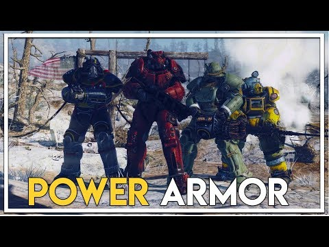 Power Armor Found in a Barn! (Fallout 76 Beta Gameplay Xbox One X)