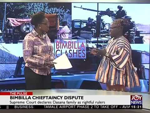 Bimbilla Chieftaincy Dispute - The Pulse on Joy News (23-5-18)