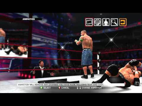 WWE '13 New Cut Scenes Part 1