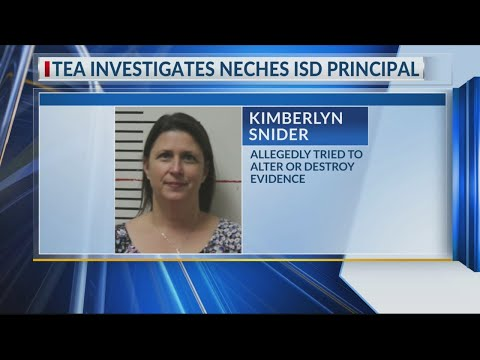 Indicted Neches Elementary School principal focus of Texas Education Agency probe