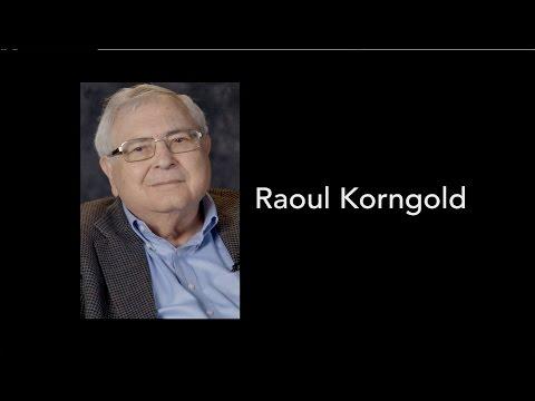 Ottawa Holocaust Survivors Testimonial 2016: Raoul Korngold