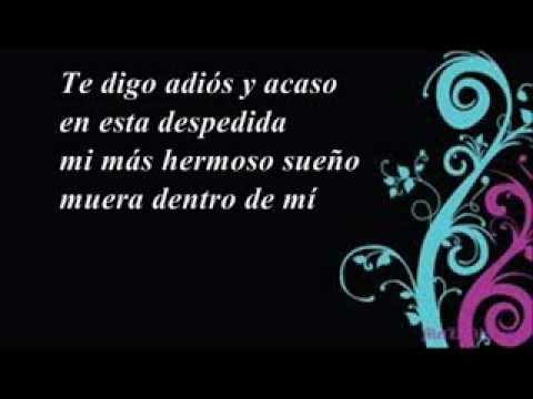 Los Nocheros - Canción del Adiós (letra)