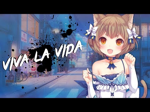 Nightcore - Viva La Vida | Lyrics