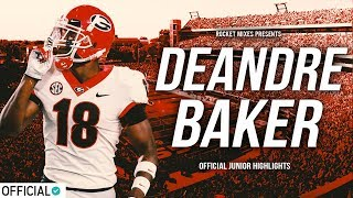 Best Returning CB in College Football - Deandre Baker || Official Junior Highlights
