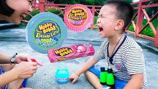 Tro choi An Keo Hubba Bubba voi Ha Ma Do Choi BonBon TV