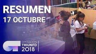 Resumen diario OT 2018   17 OCTUBRE