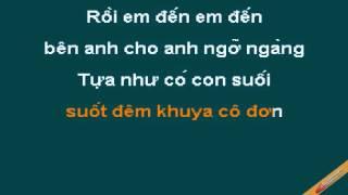 Ngay Em Den Karaoke - Trần Thu Hà - CaoCuongPro