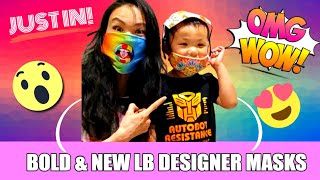 The New LB Reusable Designer Masks!