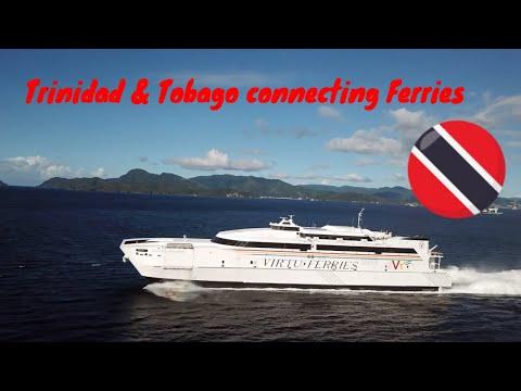 Ferry ''Jean de la Valette'' Offshore Trinidad. Trinidad & Tobago connecting fast Ferries.