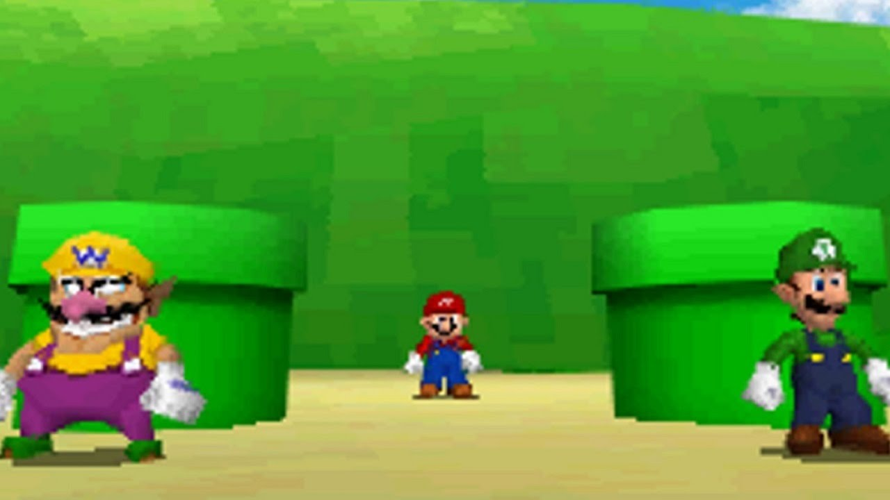 Super Mario 64 DS Walkthrough - Part 1 - Bob-omb Battlefield