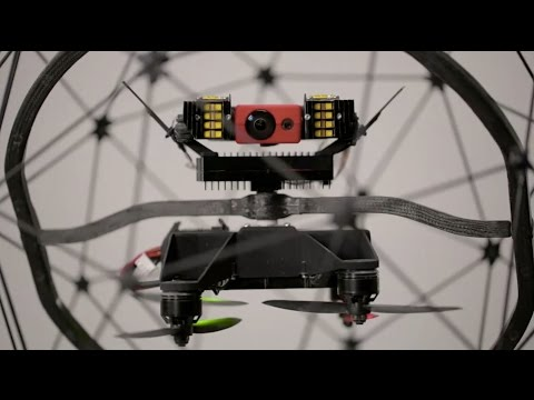Flyability presentation - Elios, the collision-tolerant drone for industrial inspection