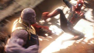 AVENGERS 3: INFINITY WAR 'Thanos Fight on Titan' Scene (2018) Movie Clip