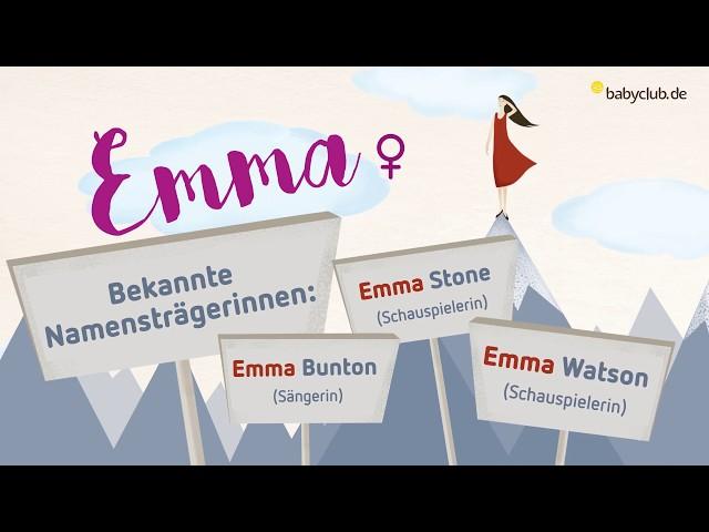 Emma Name Bedeutung