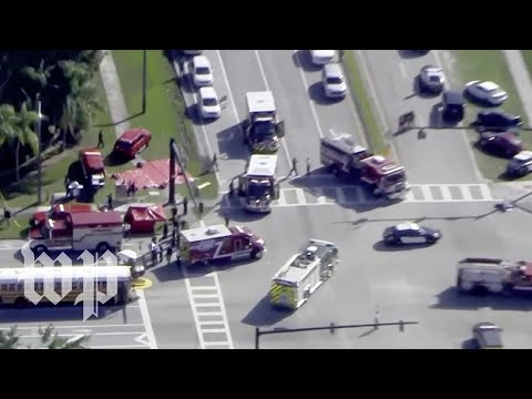 Police respond to reports of school shooting in Miami