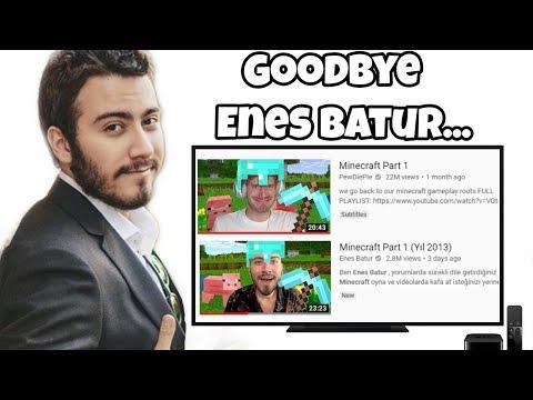 Say Goodbye to Enes Batur... thumbnail