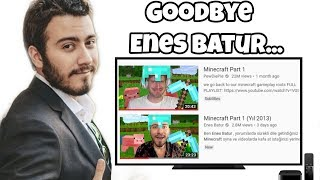 Say Goodbye to Enes Batur...