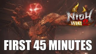 Nioh 2: First 45 Minutes Alpha Gameplay