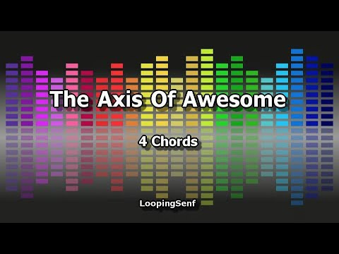 The Axis Of Awesome - 4 Chords - Karaoke - YouTube