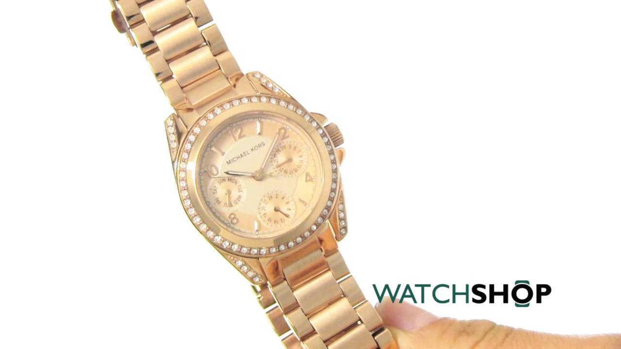 435b65022b71 Michael Kors Ladies  Mini Blair Watch (MK5613) - YouTube