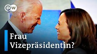 US-Präsidentschaftswahl: Joe Biden holt Kamala Harris an seine Seite | DW Nachrichten