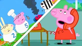 Свинка Пеппа на русском все серии подряд | Доктор Медведь лечит детей и взрослых | Мультики