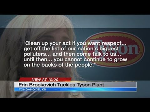 Tonganoxie residents, Erin Brockovich come together in fight against new Tyson plant