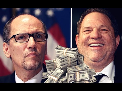 DNC Refusing to Donate Harvey Weinstein's Political Contributions to Charity