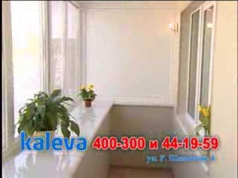 Теплый балкон с увеличением на 1 этаже - видео nofollow.ru.