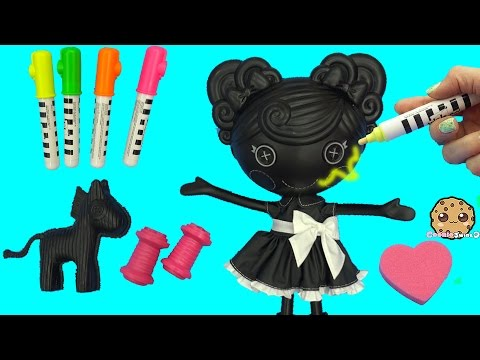 Lalaloopsy Trace E Doodles Color Me Draw with Markers & Stamp Doll Cookieswirlc
