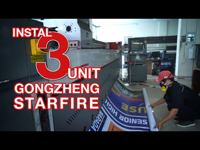 Xpress Print Instal 3 Unit Mesin Digital Printing Gongzheng Starfire. Apa Alasannya?