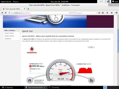 Italy connection is not shit... Gigabit Speedtest (And it isn't the best)