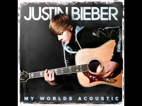 Baby Acustico Justin Bieber   My World Acoustic