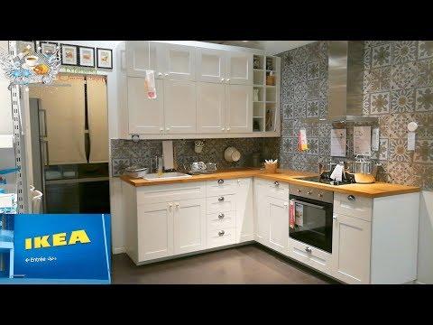 جولة في مطابخ ايكيا أفكار وحيل لتصميم مطبخ دارك اجي تشوف معايا الجديد في عالم المطابخ Youtube