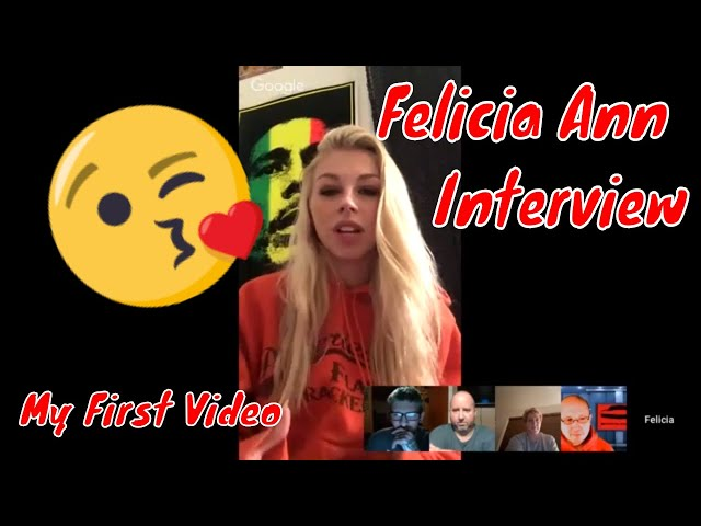 Interview with Felicia Ann first solo video